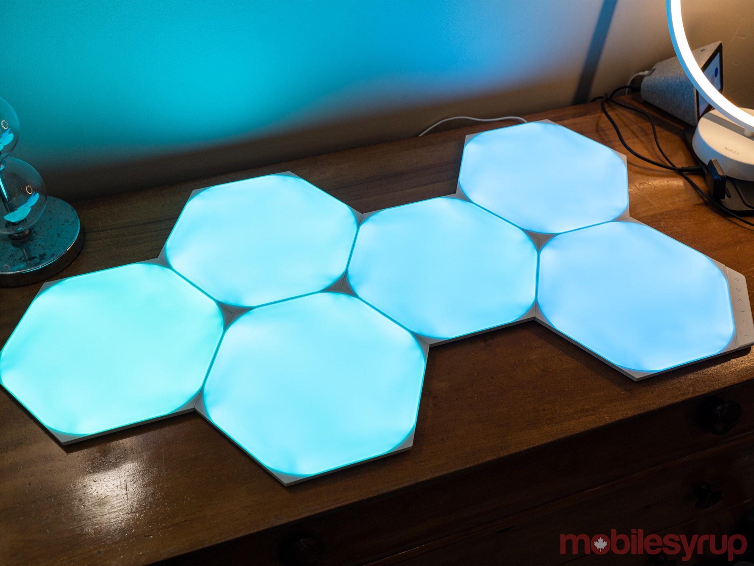 Nanoleaf Hexagon Shapes Lights