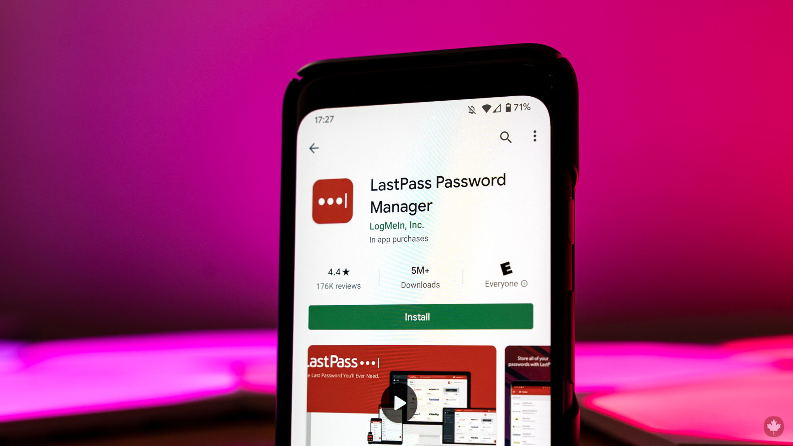 LastPass on Android