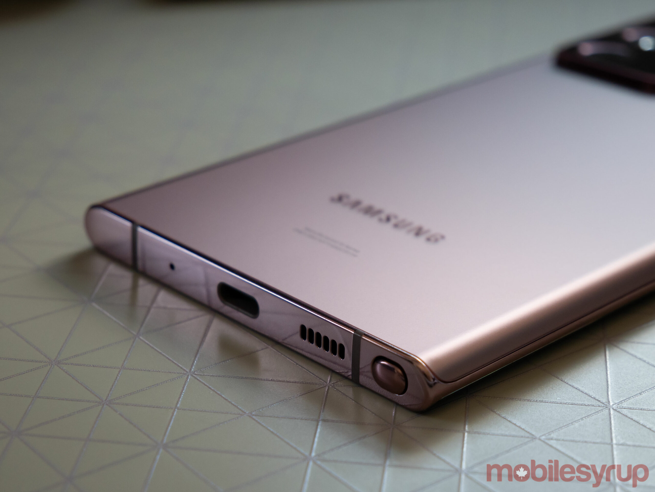Note 20 Ultra S Pen slot