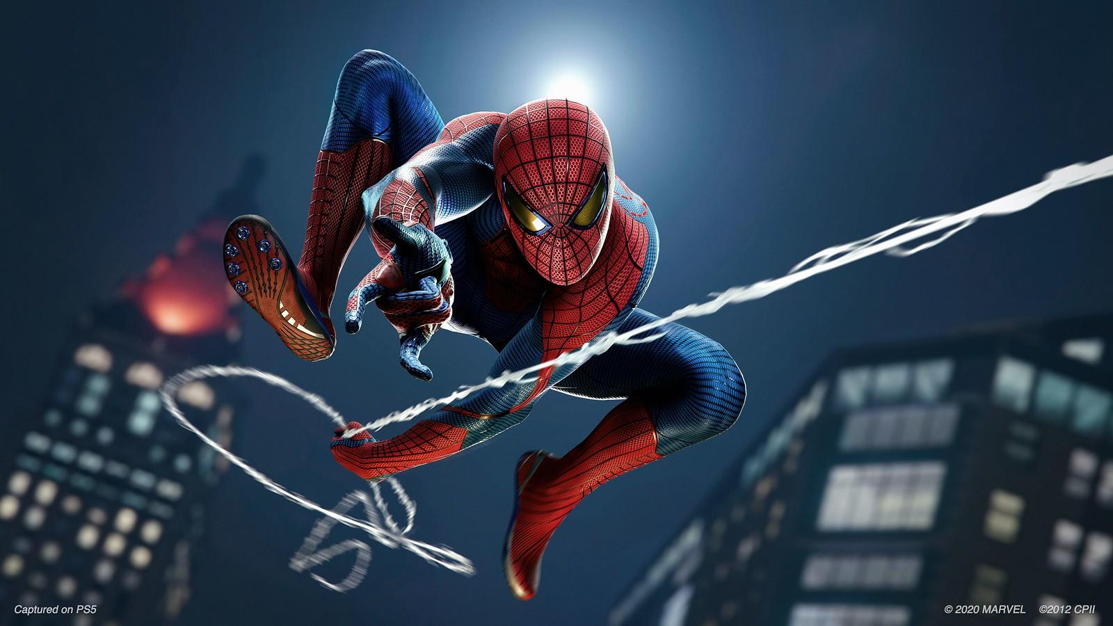 Marvel's Spider-Man Remastered Amazing Spider-Man