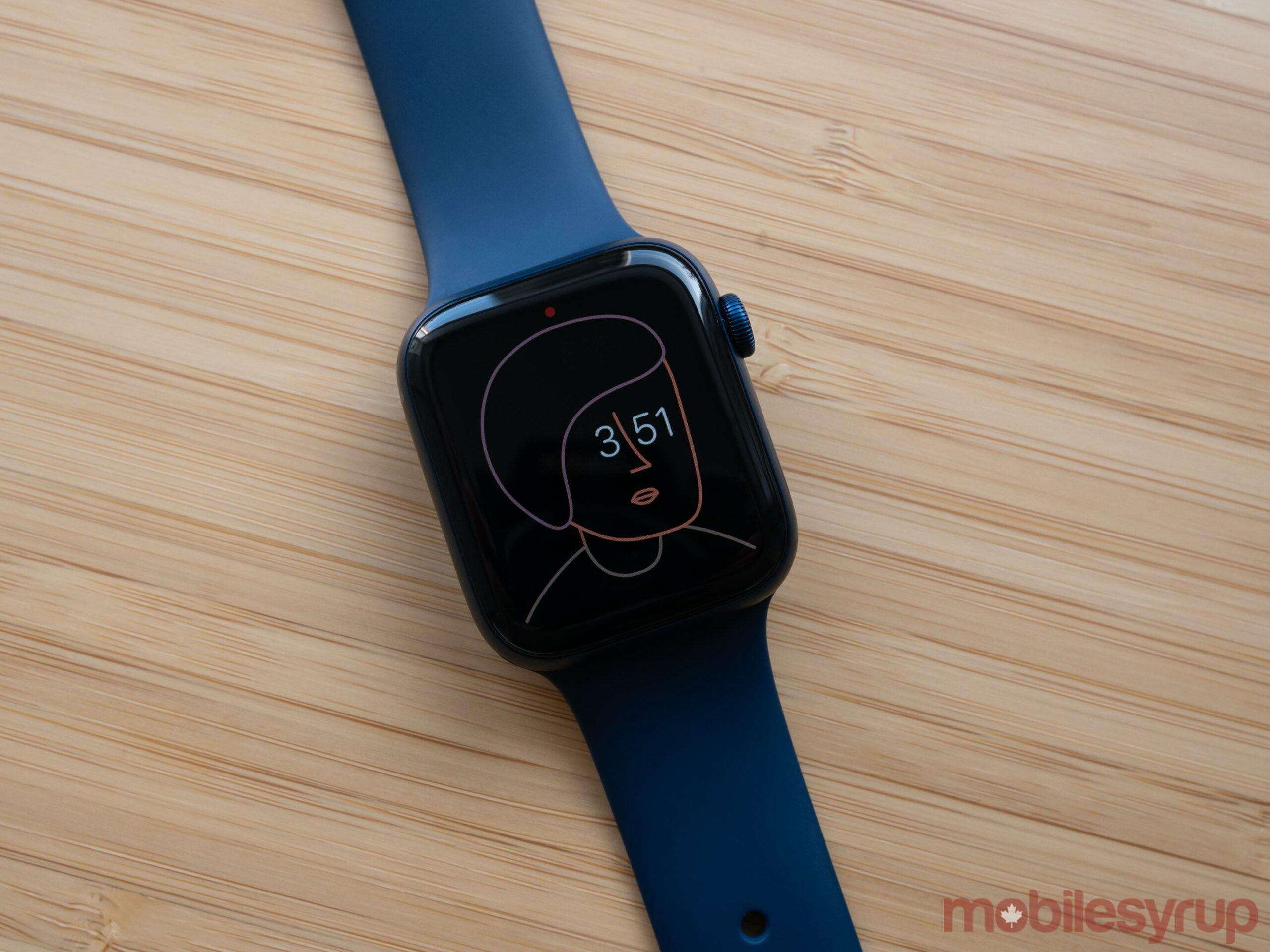Apple Watch Series 6 Artist Watch Face