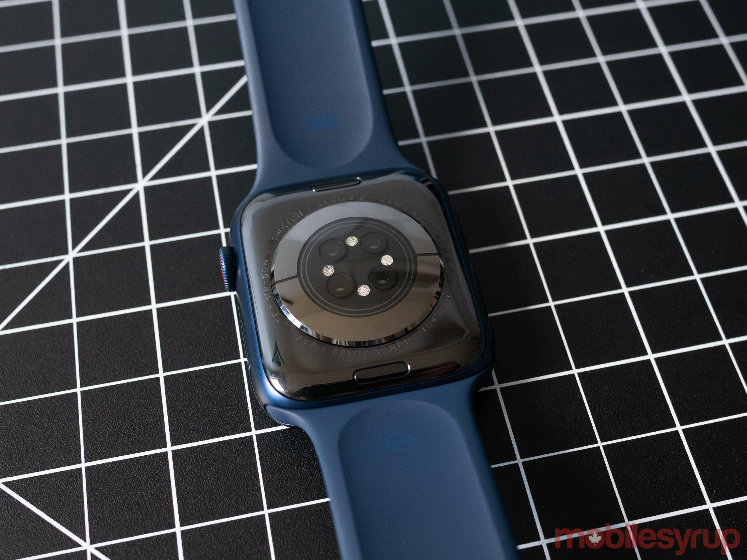 Apple Watch Series 6 rear