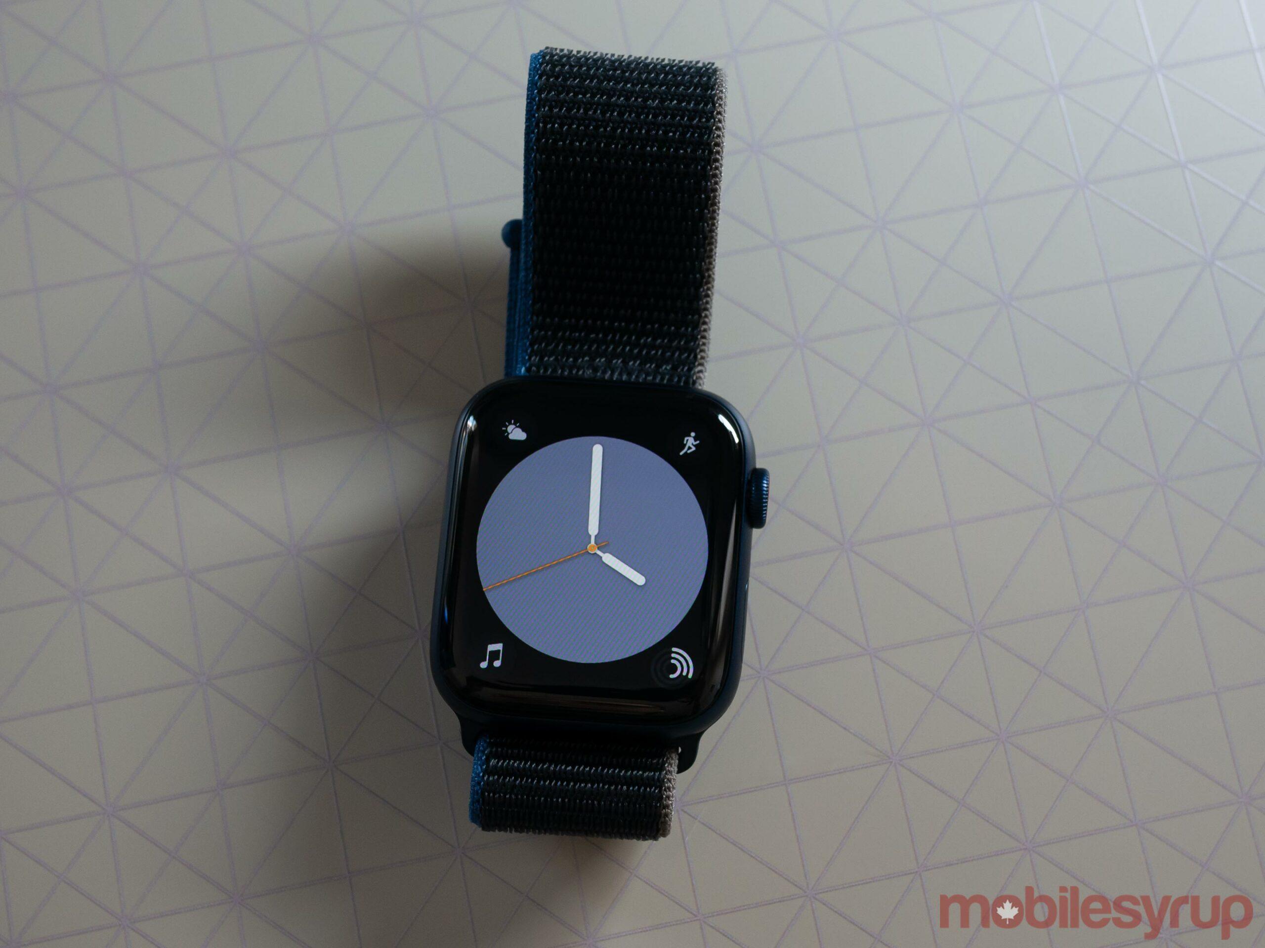 Apple Watch Series 6 Colour Watch Face