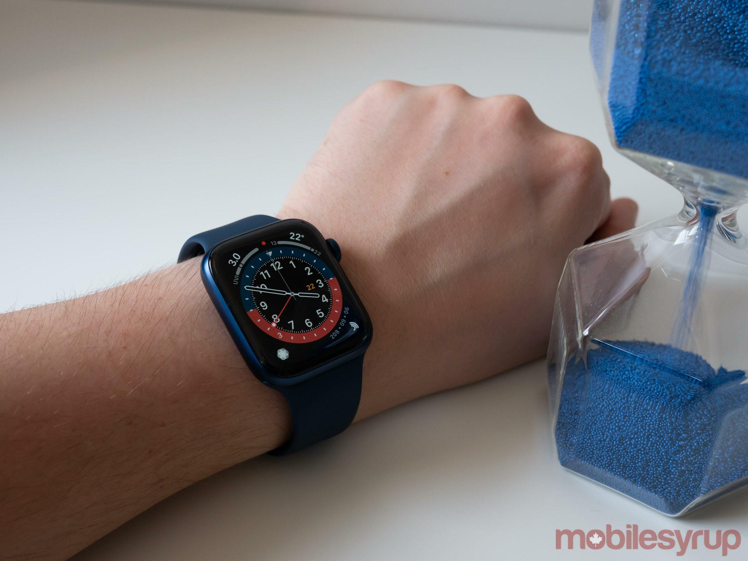 Apple Watch Series 6 GMT Watch Face