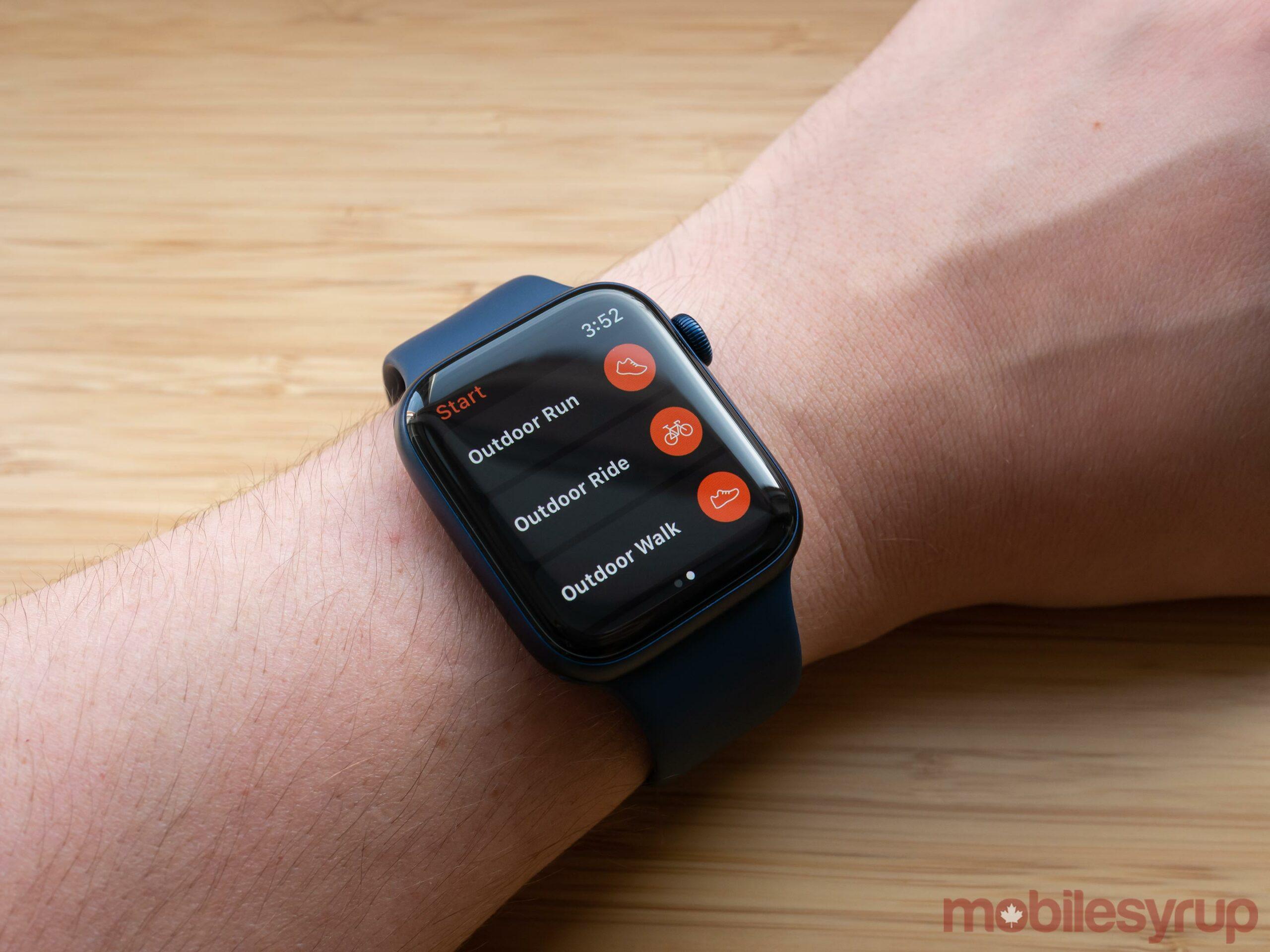 Apple Watch Series 6 Strava