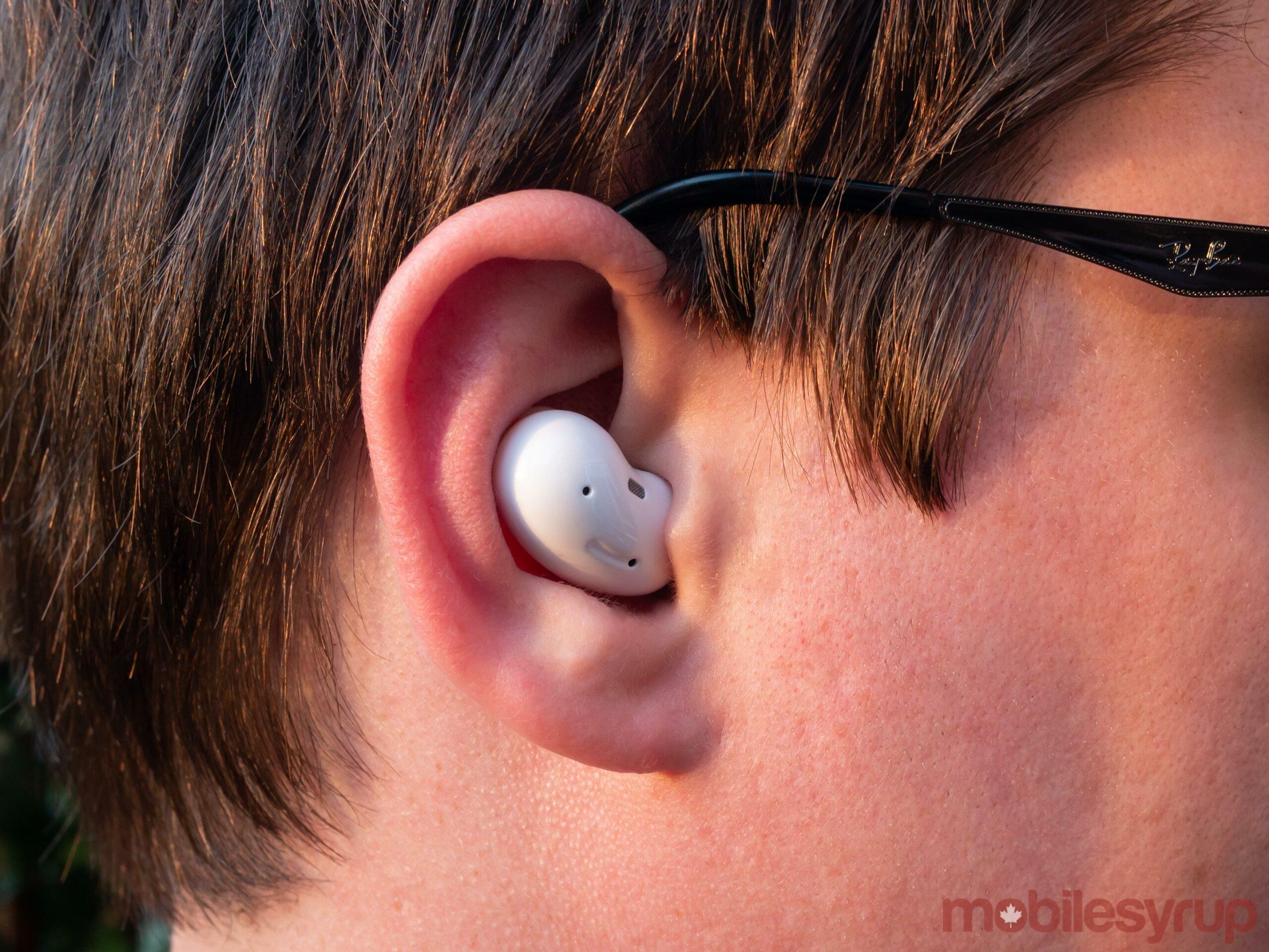Galaxy Buds Live in ear