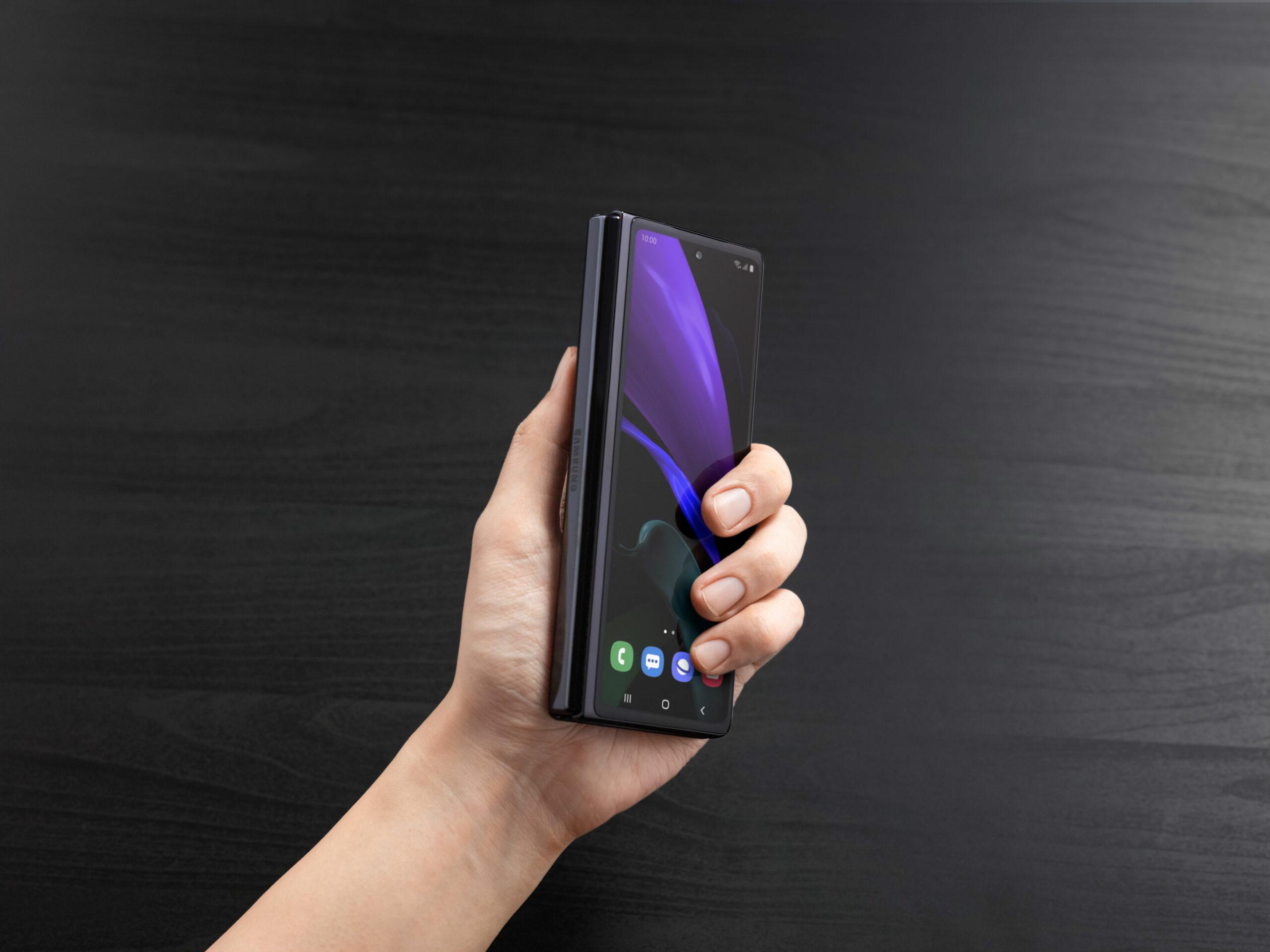 Galaxy Z Fold front display