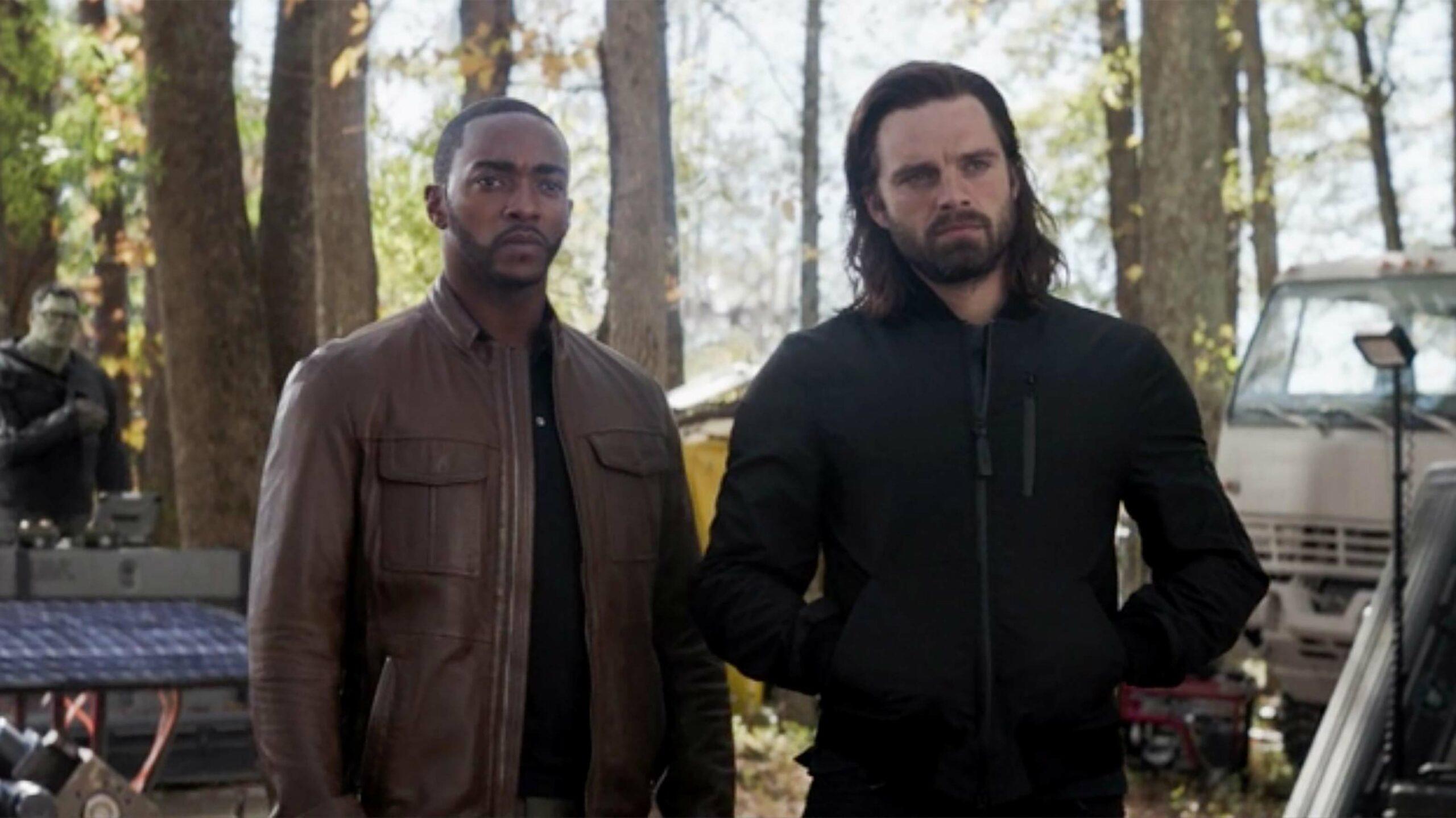 Sam Wilson and Bucky Barnes Avengers Endgame