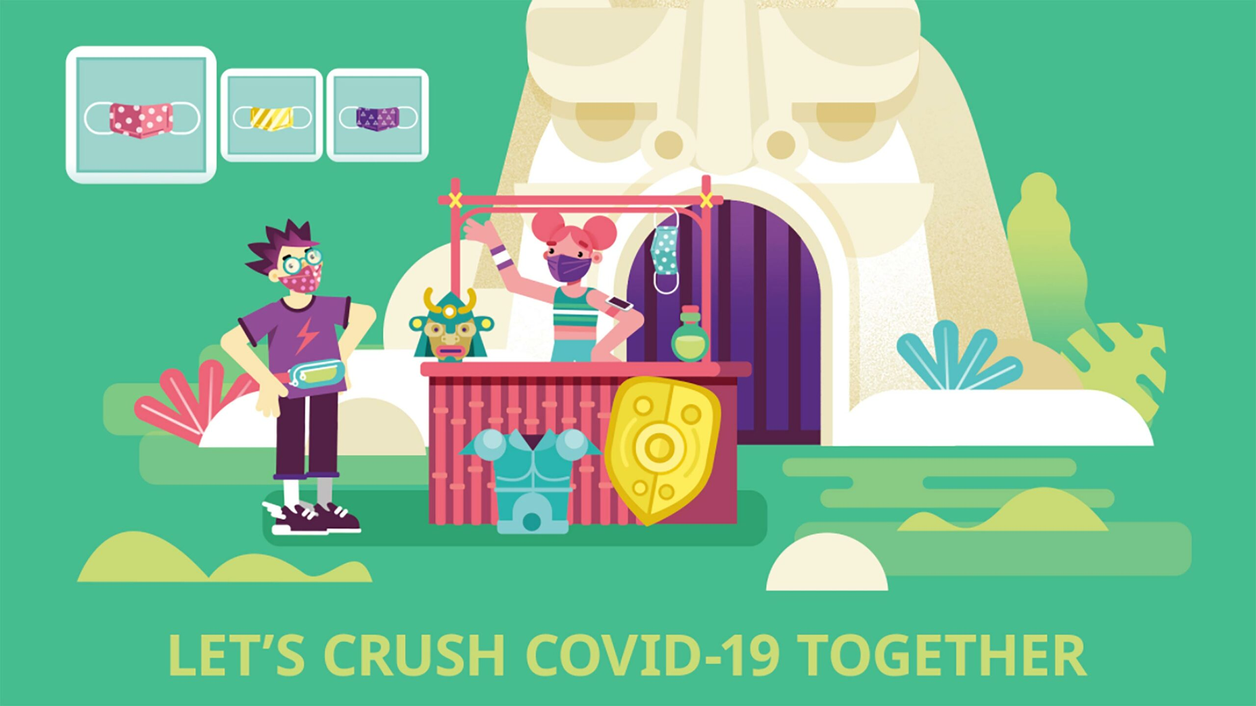 ESAC Crush COVID