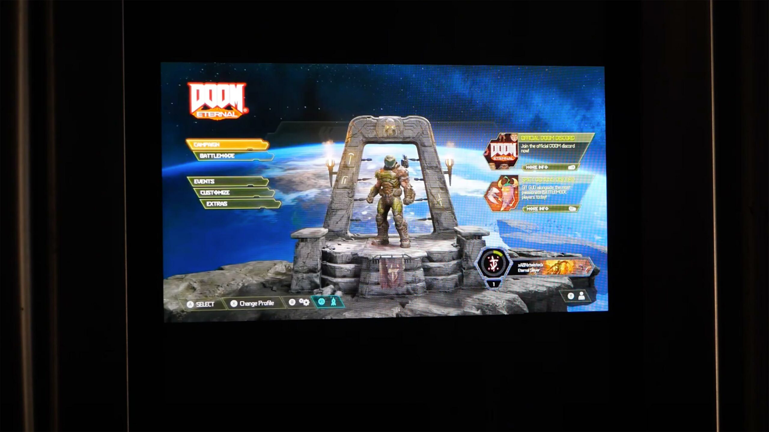 Doom Eternal smart fridge