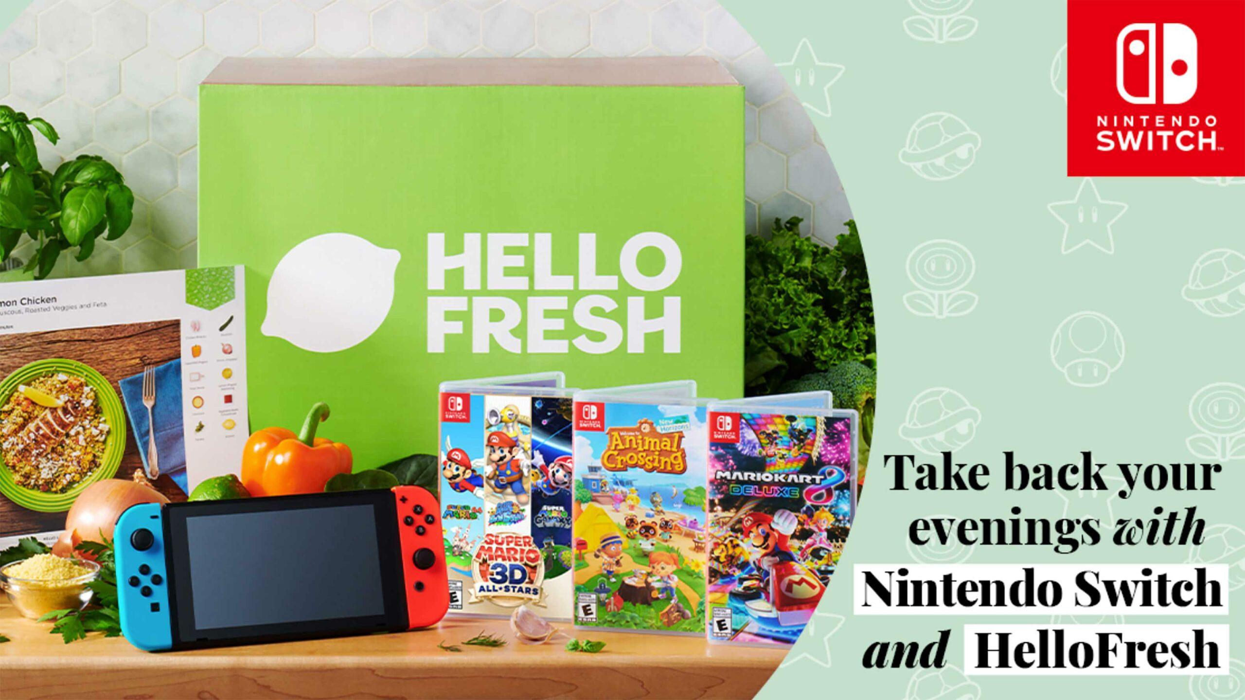 HelloFresh Nintendo