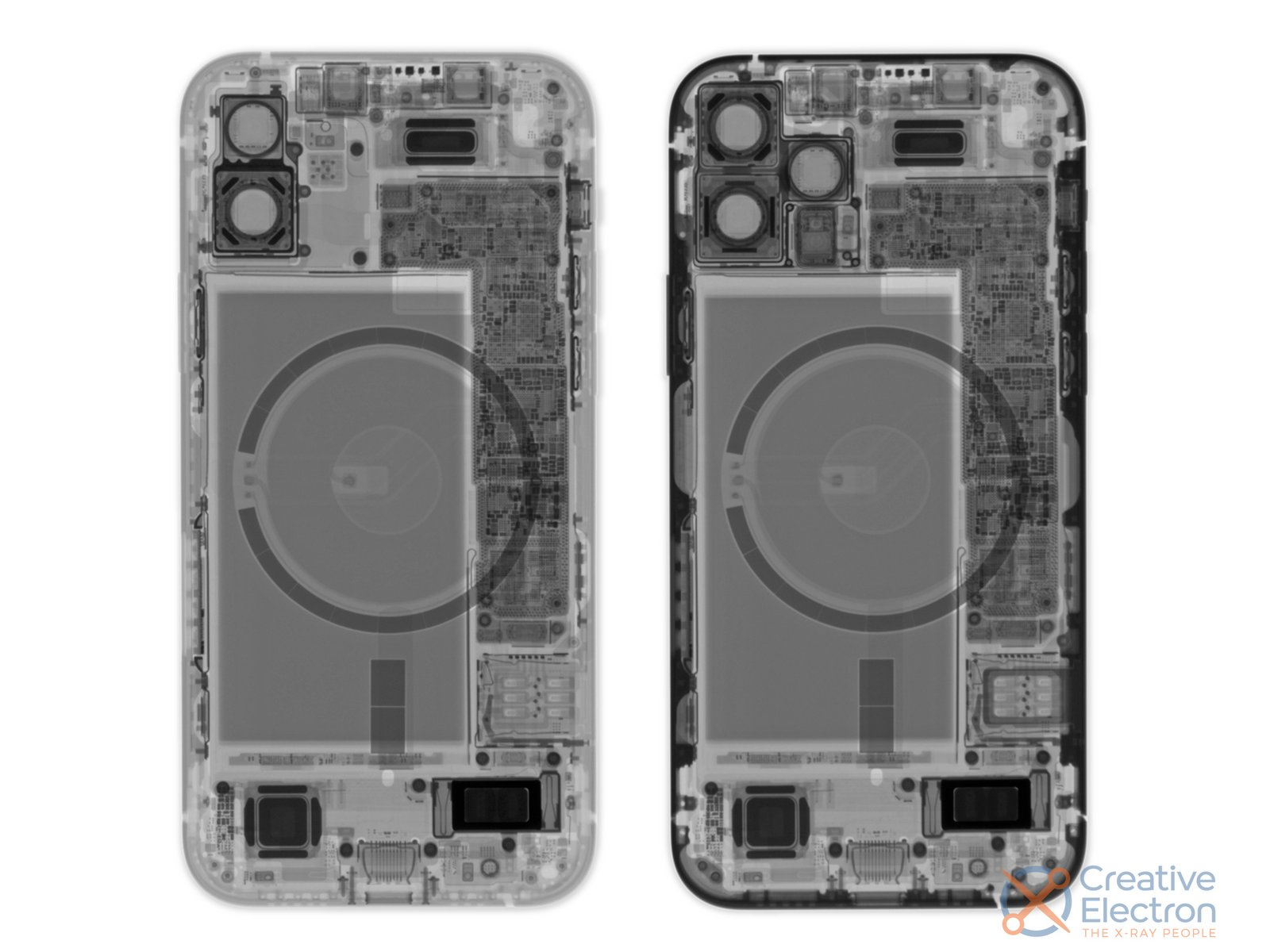 iFixit iPhone 12 x-ray