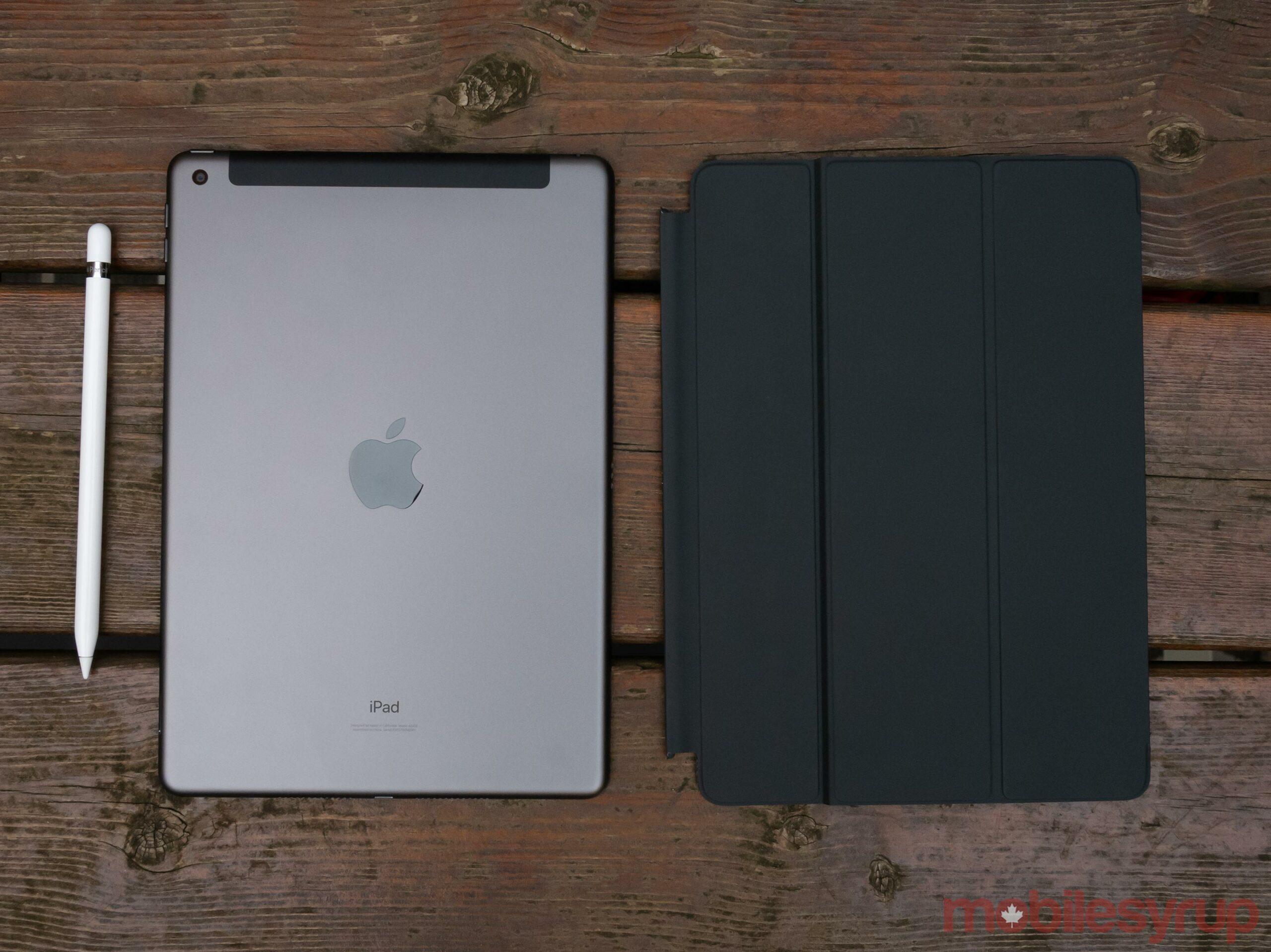 Back of iPad (2020)