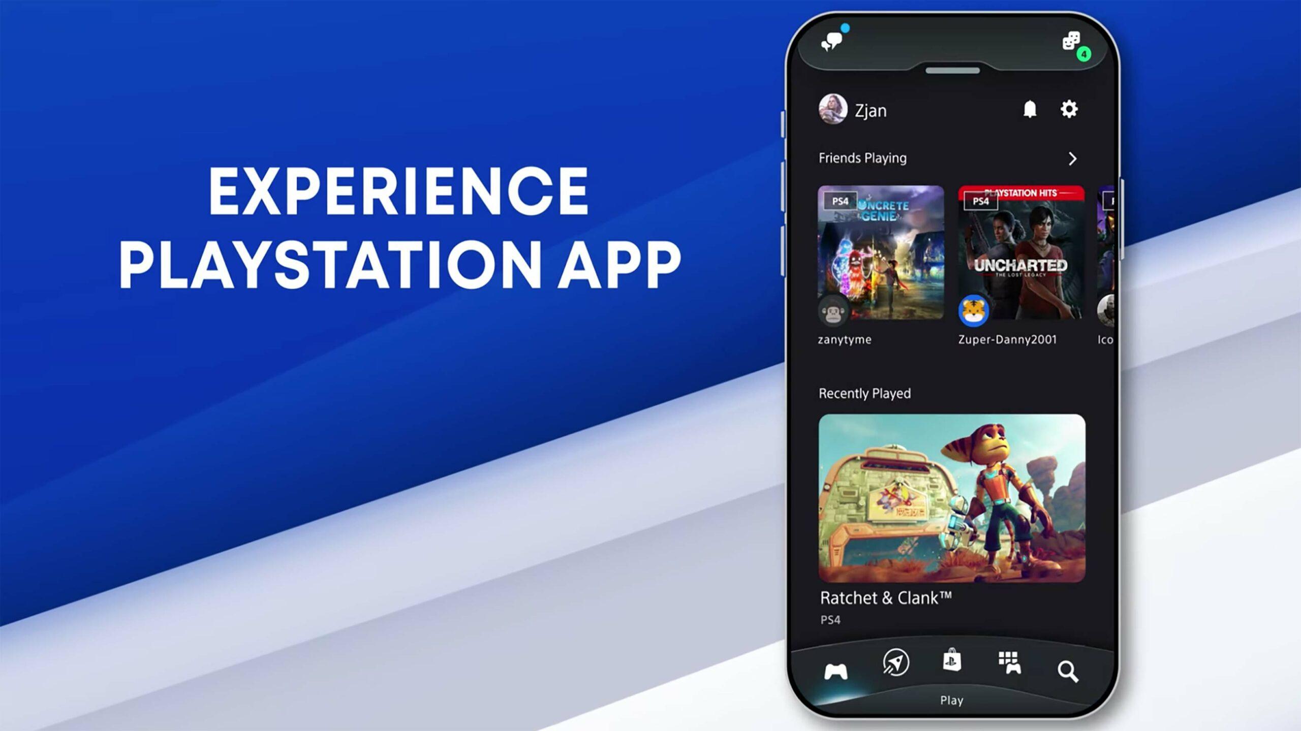PlayStation app update