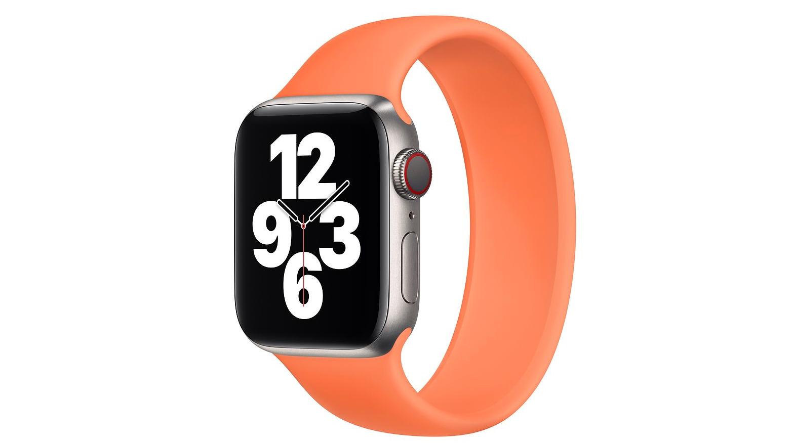 Apple Watch 'Kumquat' Sport Band
