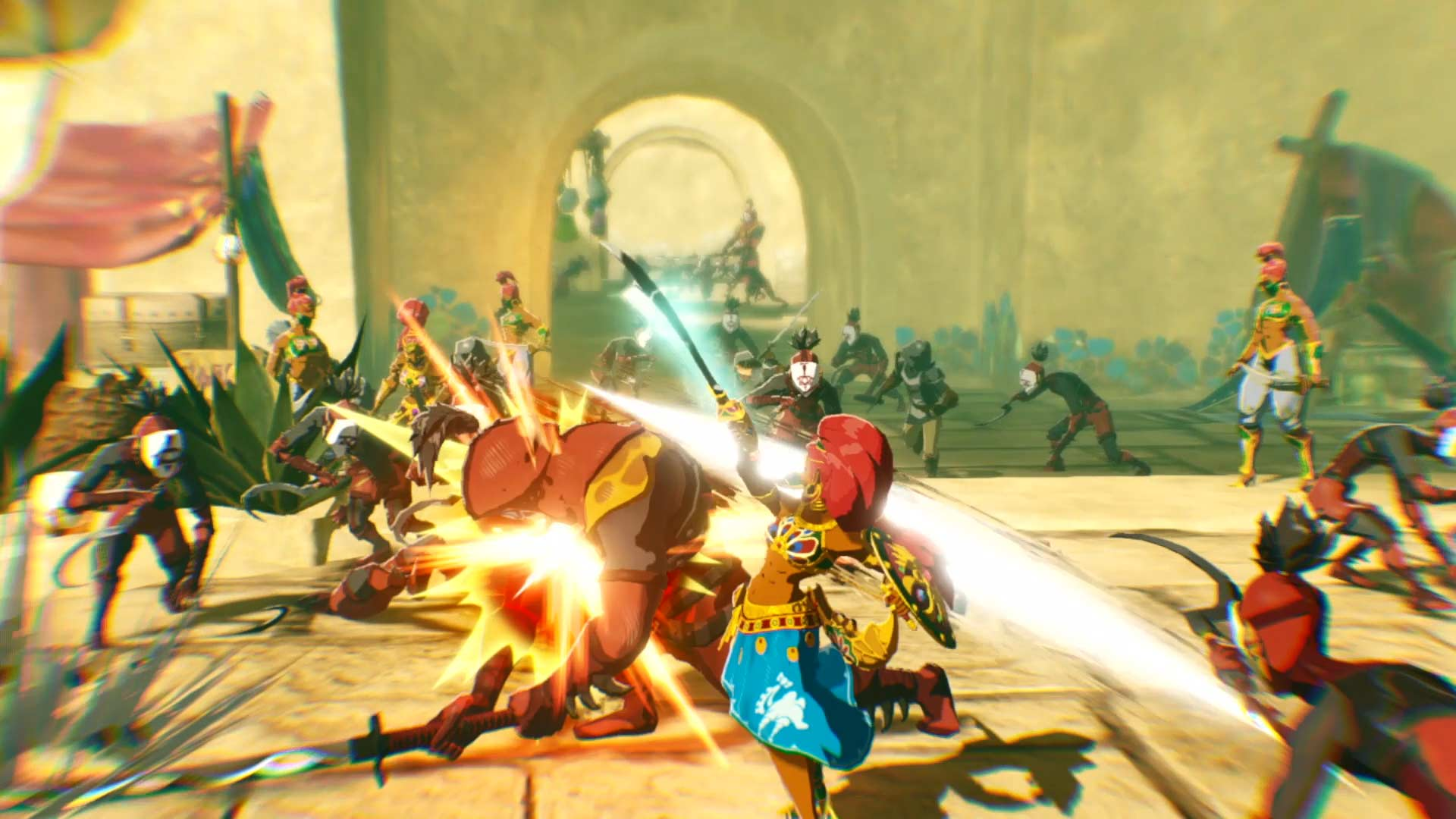 Hyrule Warriors: Age of Calamity Urbosa