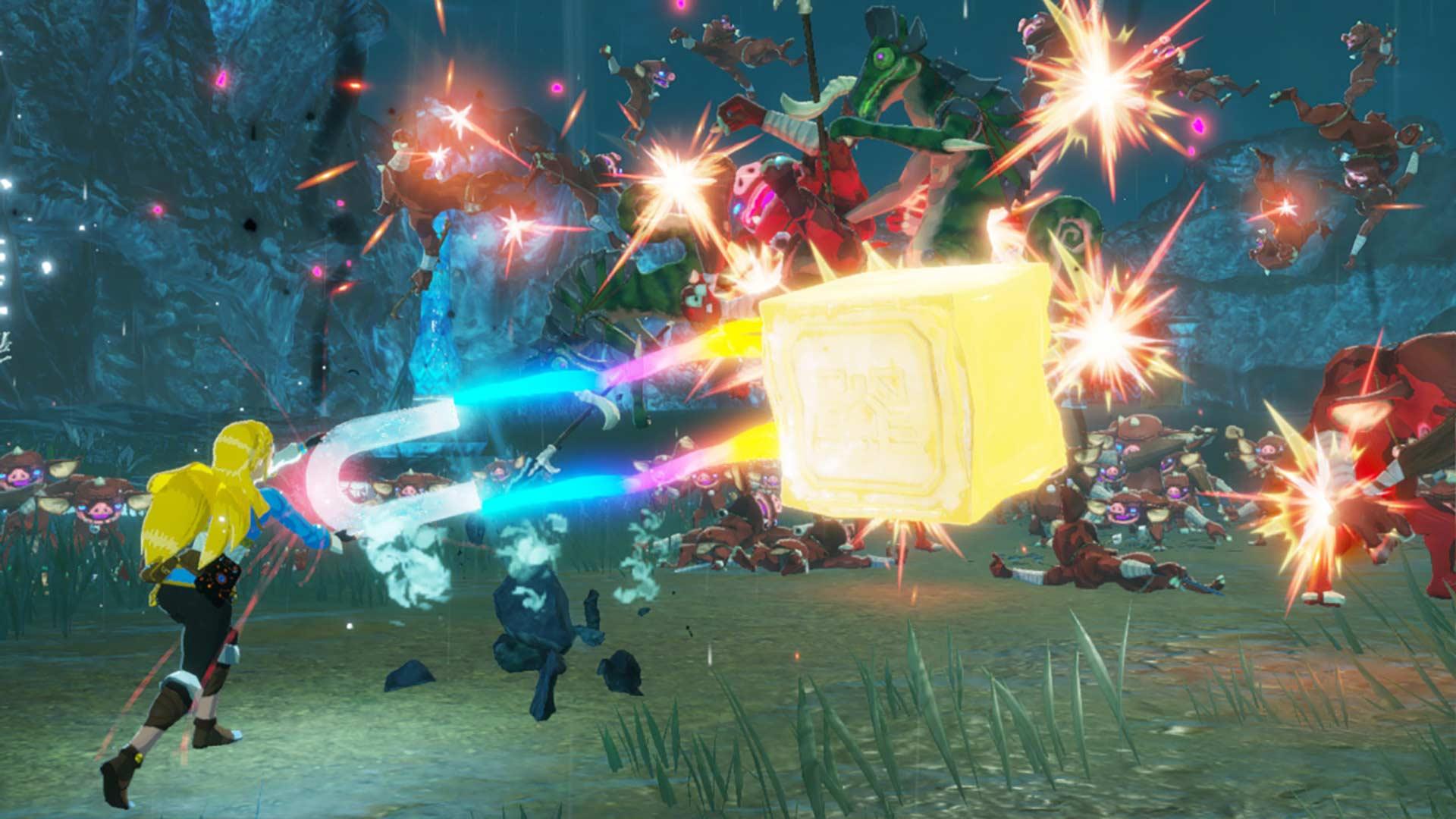 Hyrule Warriors: Age of Calamity Zelda Magnesis