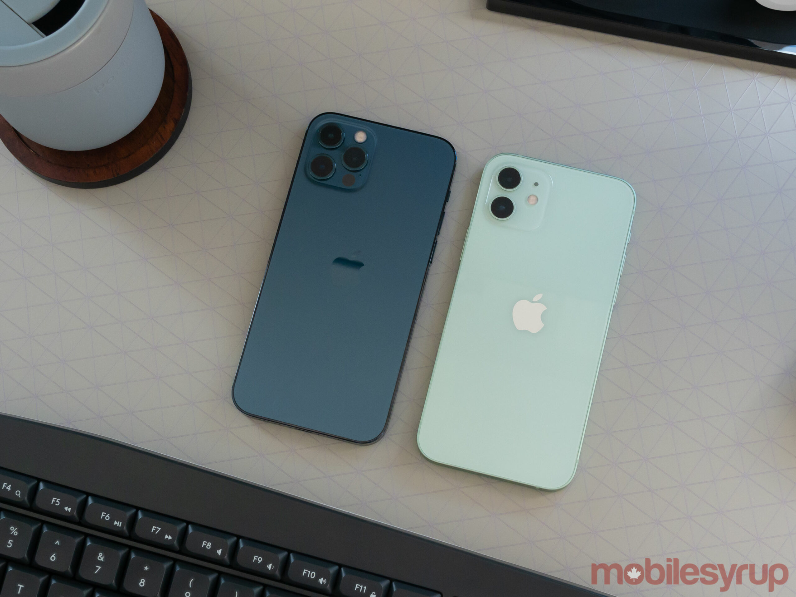 iPhone 12 Pro and iPhone 12