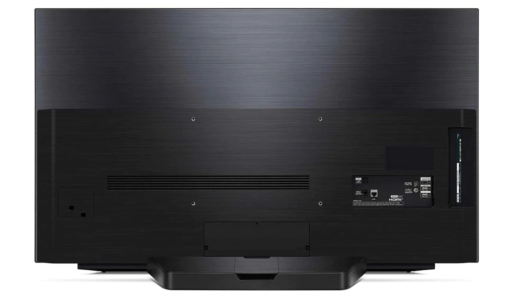 48-inch LG CX TV Back