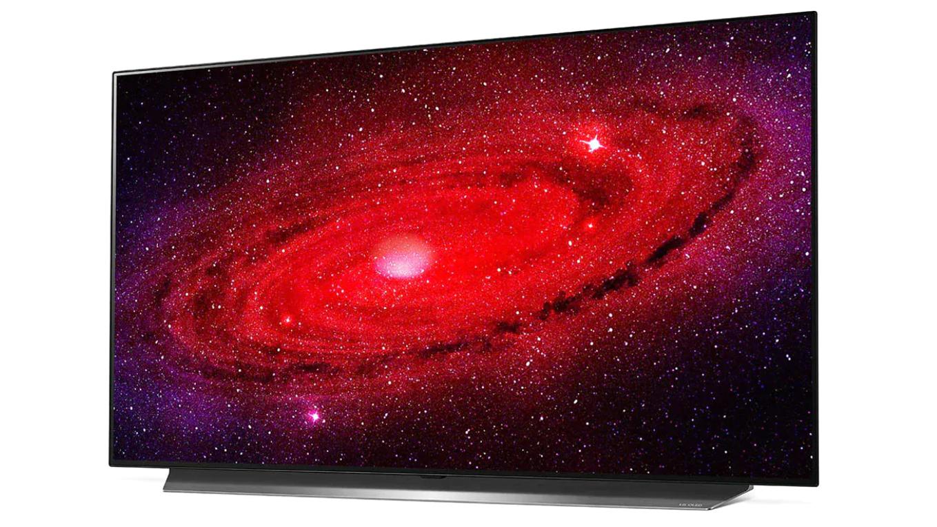 48-inch LG CX TV