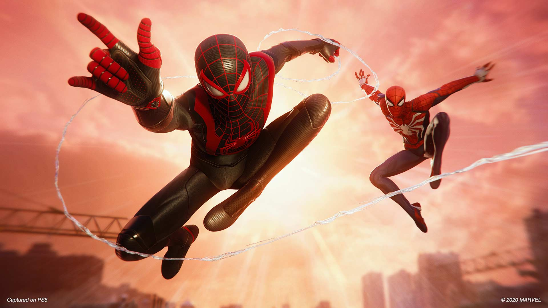Marvel's Spider-Man: Miles Morale Miles and Peter
