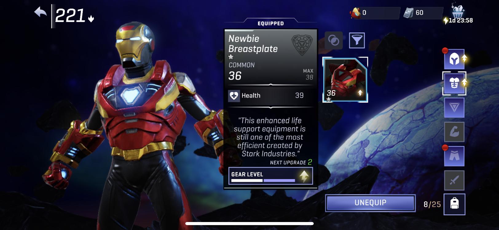 Marvel Realm of Champions Iron Legionnaire