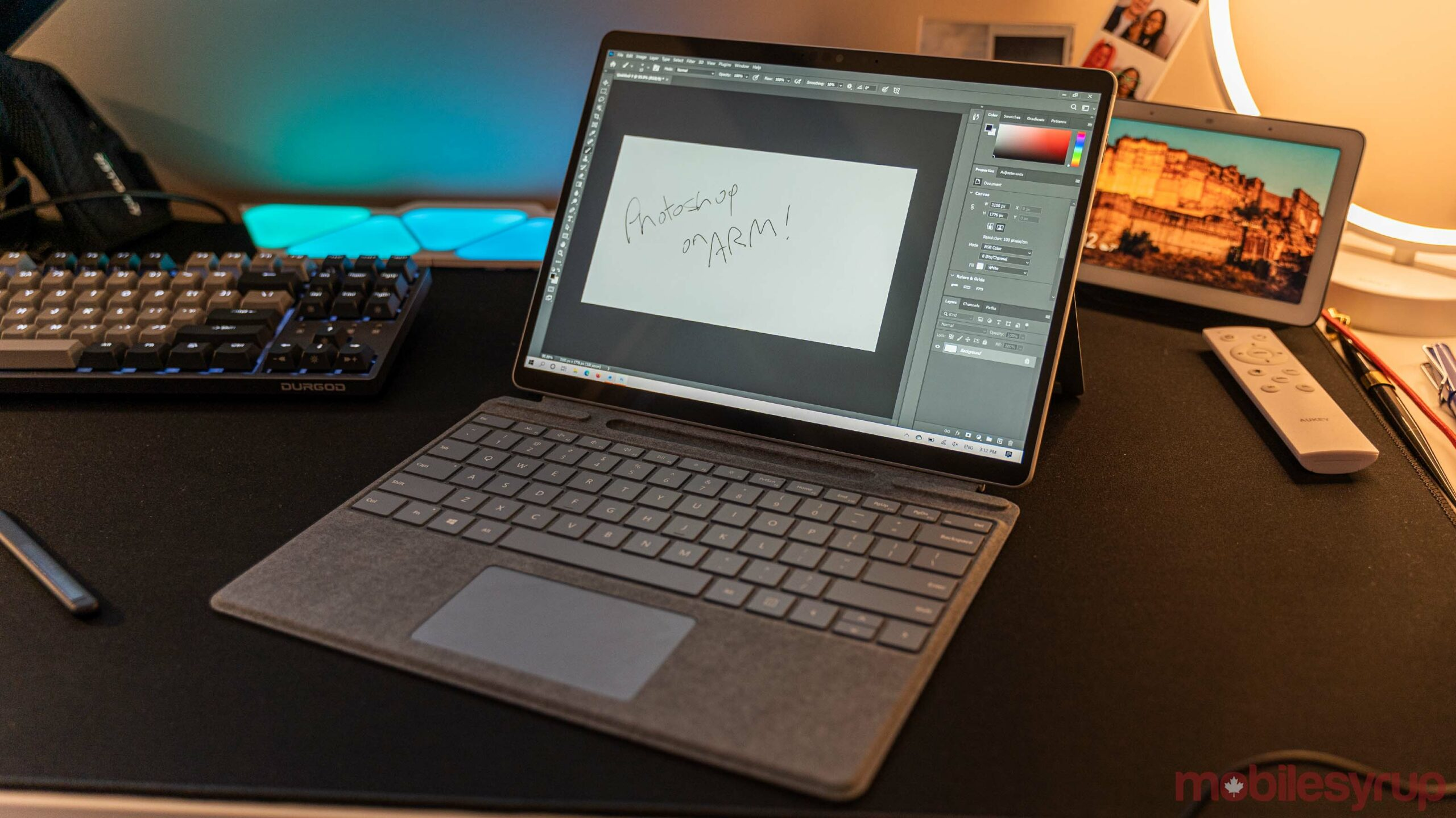 Photoshop on the Surface Pro X (2020)