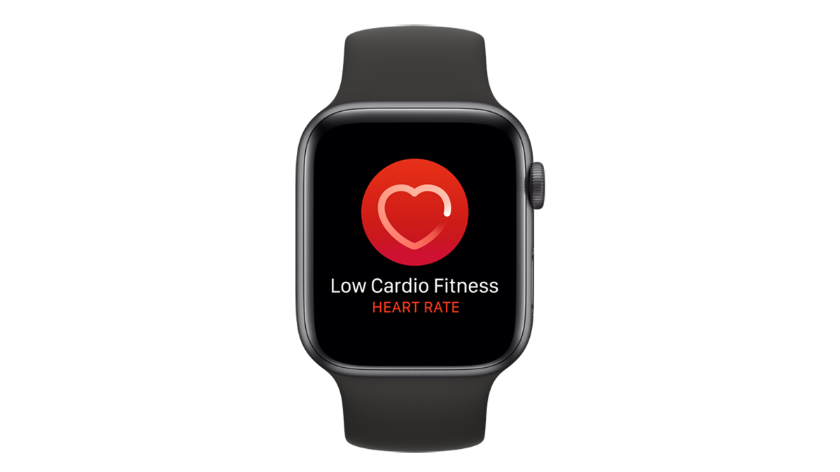 Apple Watch Cardio Fitness update