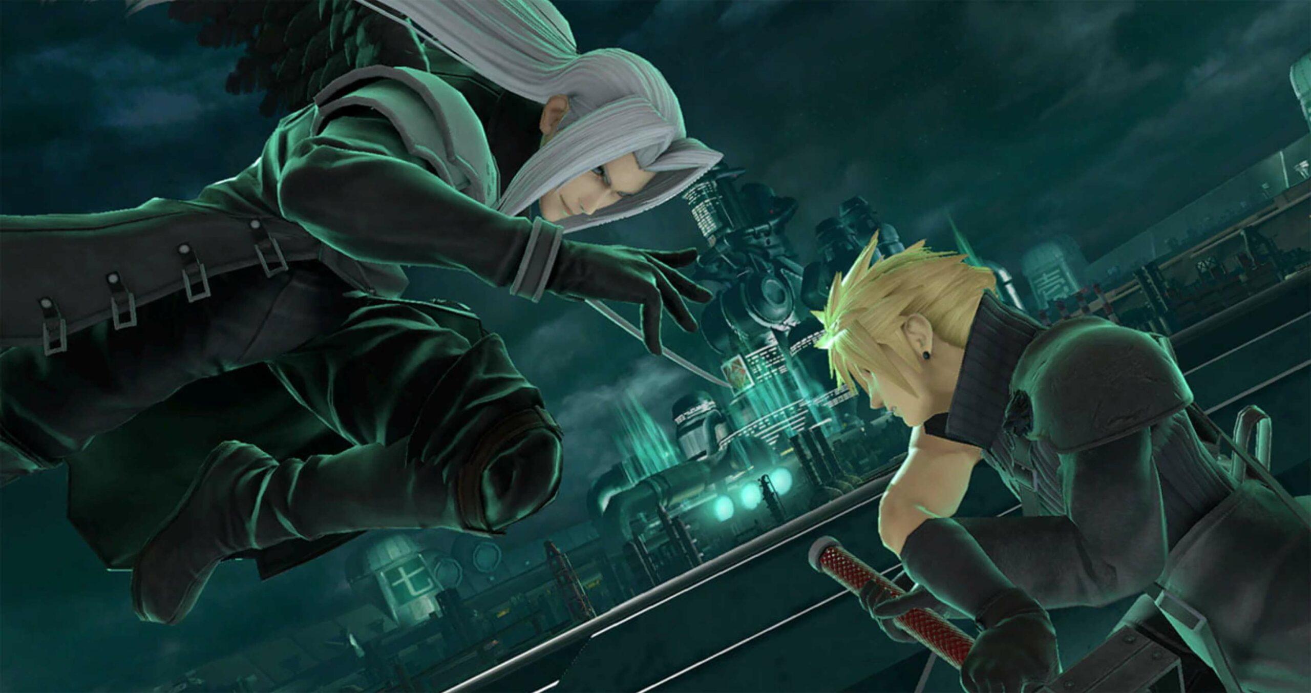 Smash Bros. Ultimate Cloud vs Sephiroth