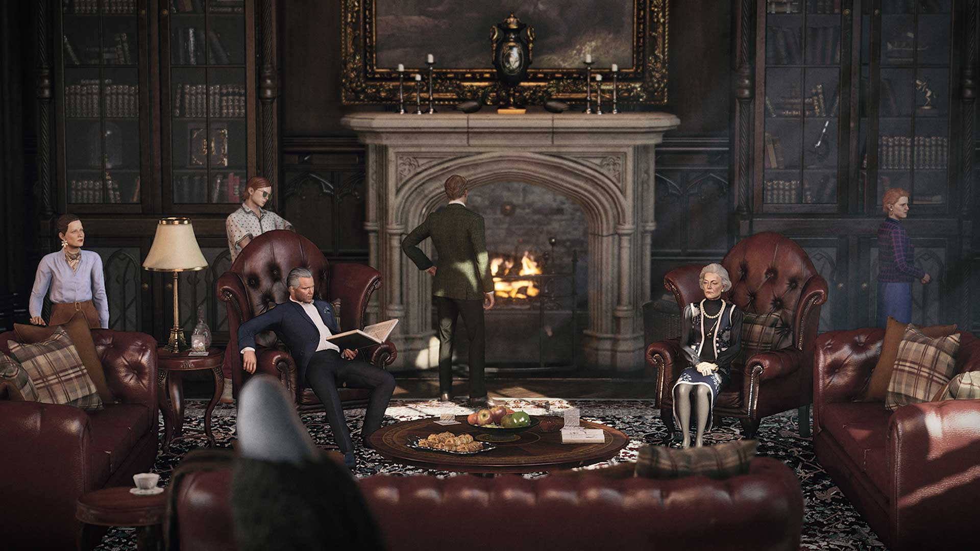 Hitman 3 Dartmoor family