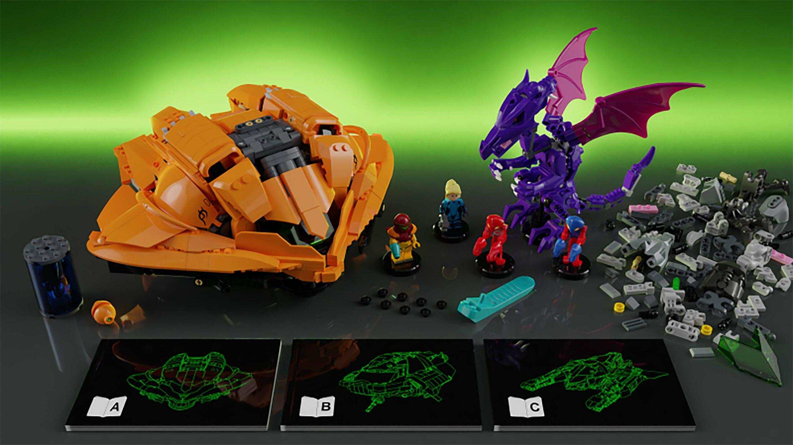 Lego Metroid set
