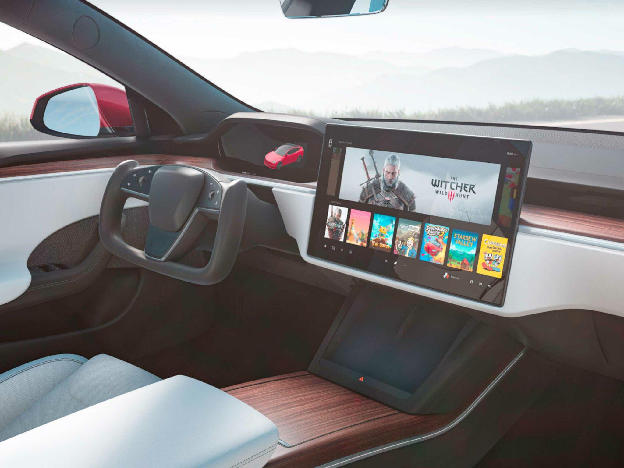 New Steering Wheel Era ? Tesla-new-interior-2048x1536