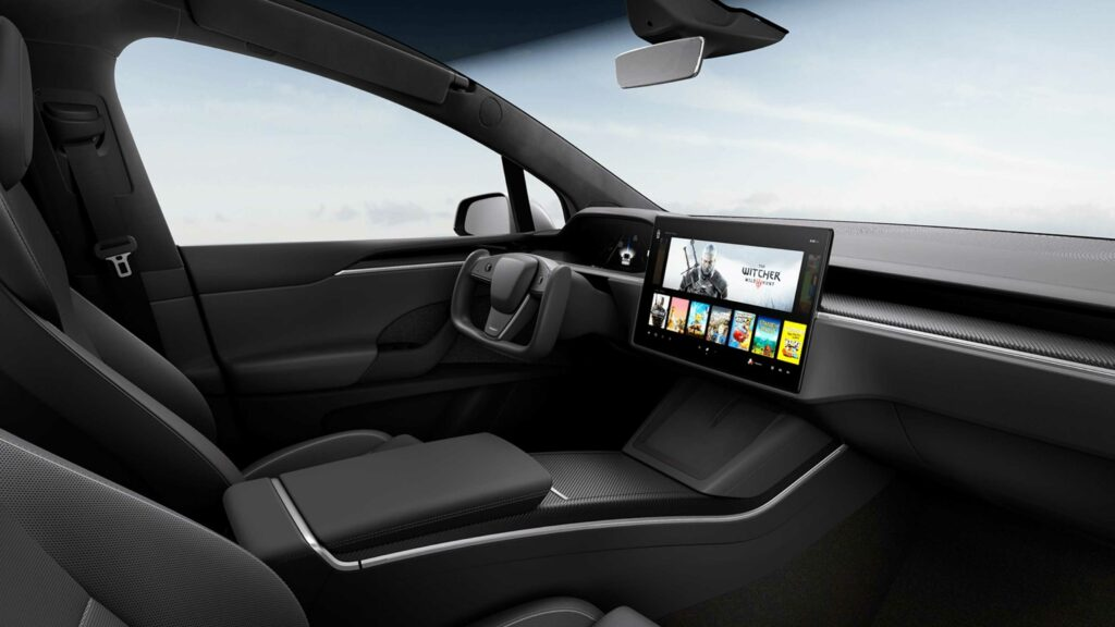 Tesla redesigns Model S and X with sci-fi movie inspired steering wheels