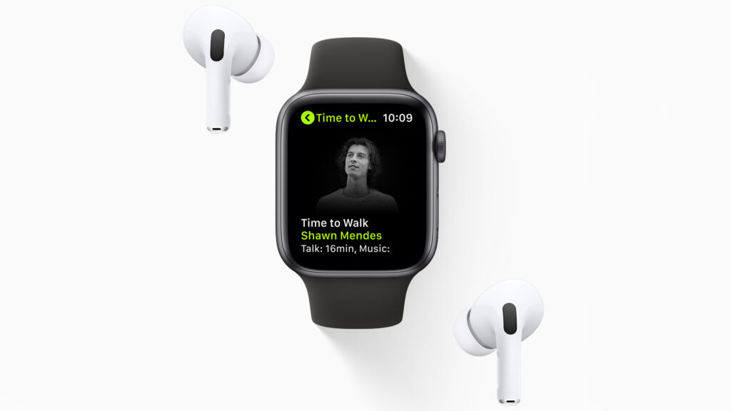 Apple launches 'Time to Walk' feature for Apple Watch and Fitness+