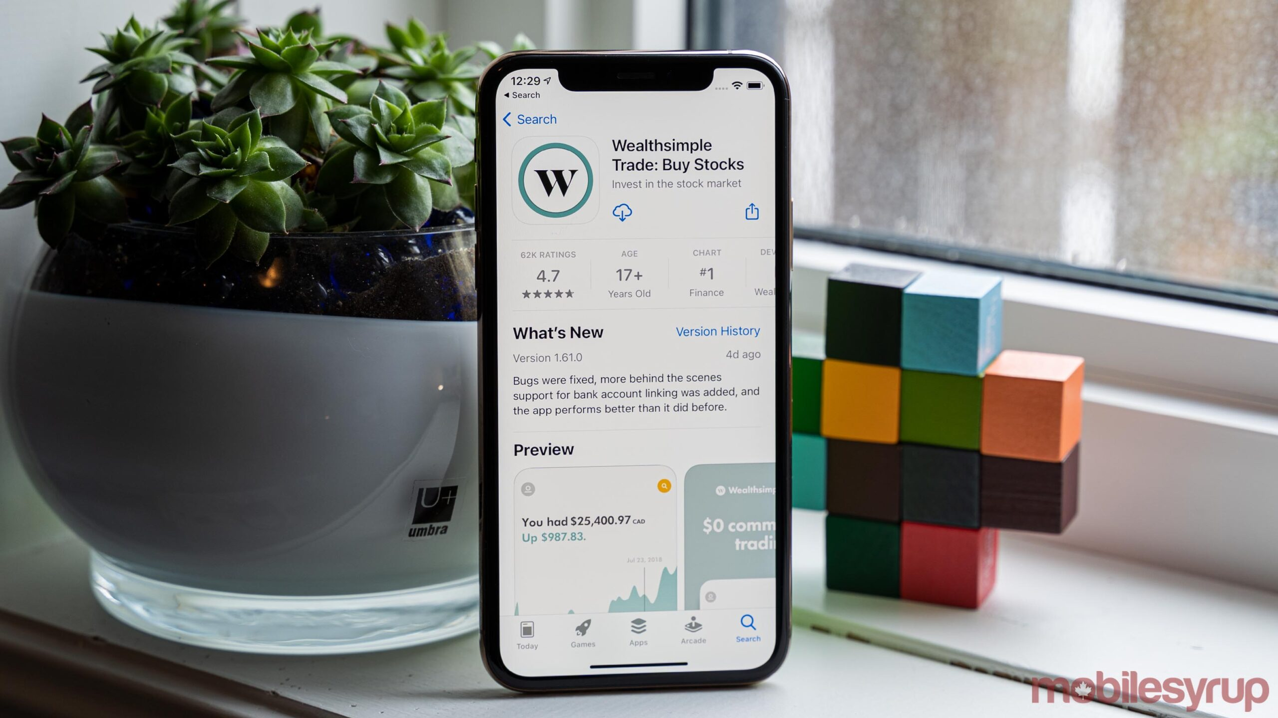 Wealthsimple Trade app on the App Store
