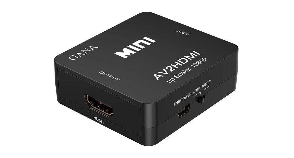 Gana RCA to HDMI Converter