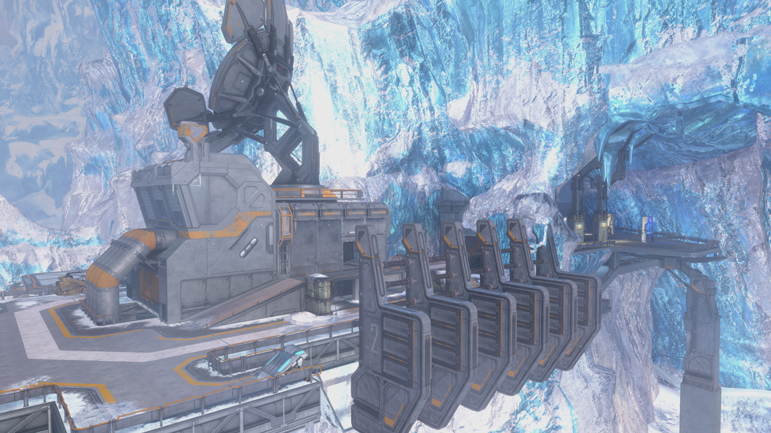 Halo 3 Waterfall map