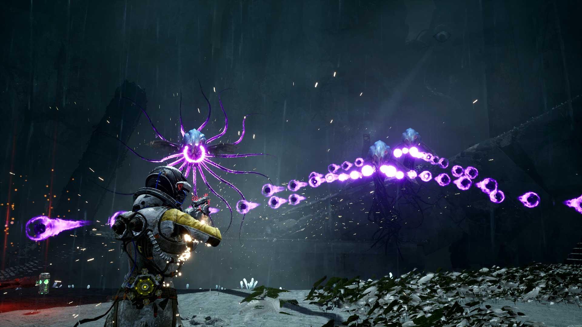PS5 Returnal combat