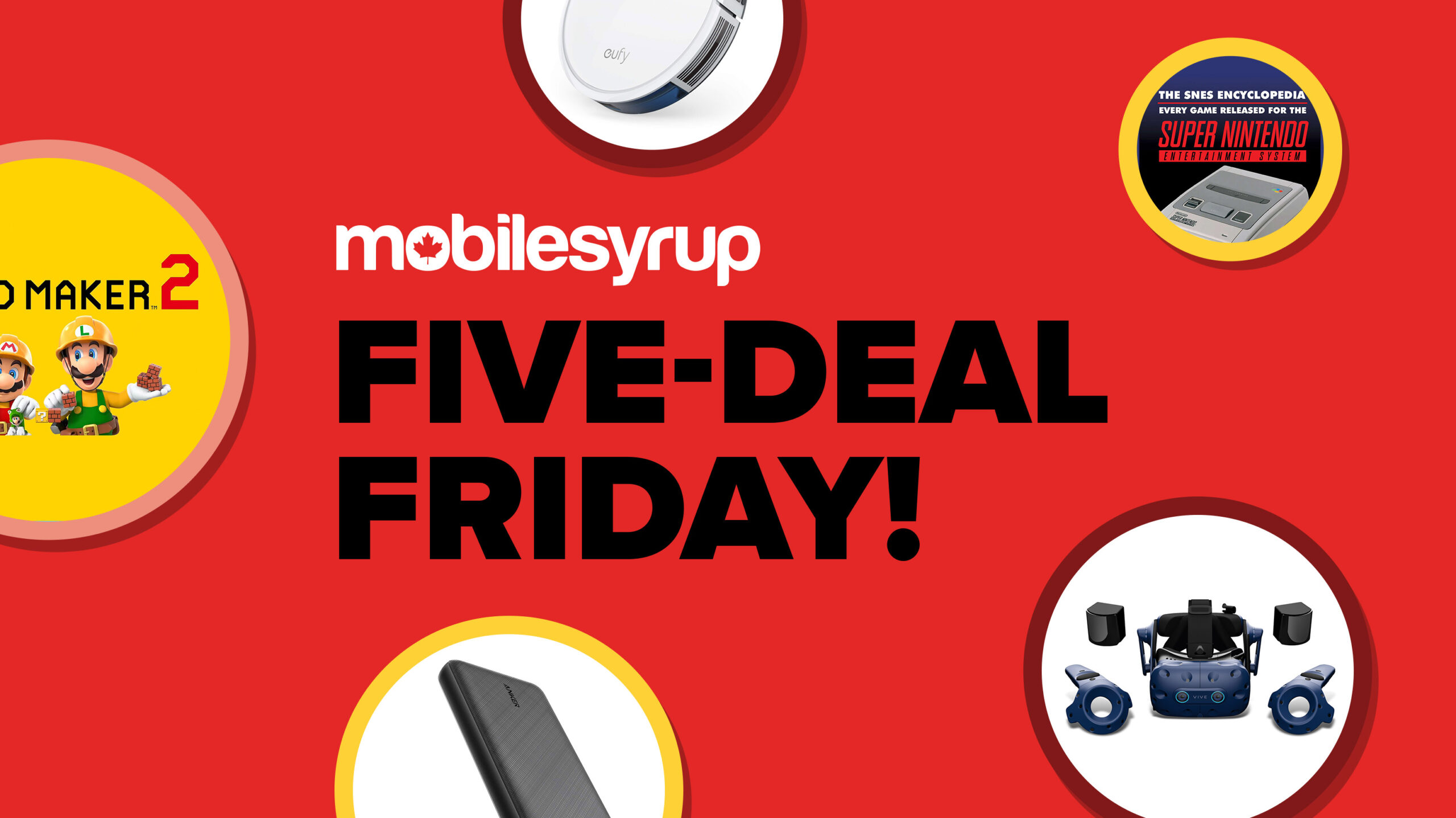 Five Deal Fridays March 05, 2021