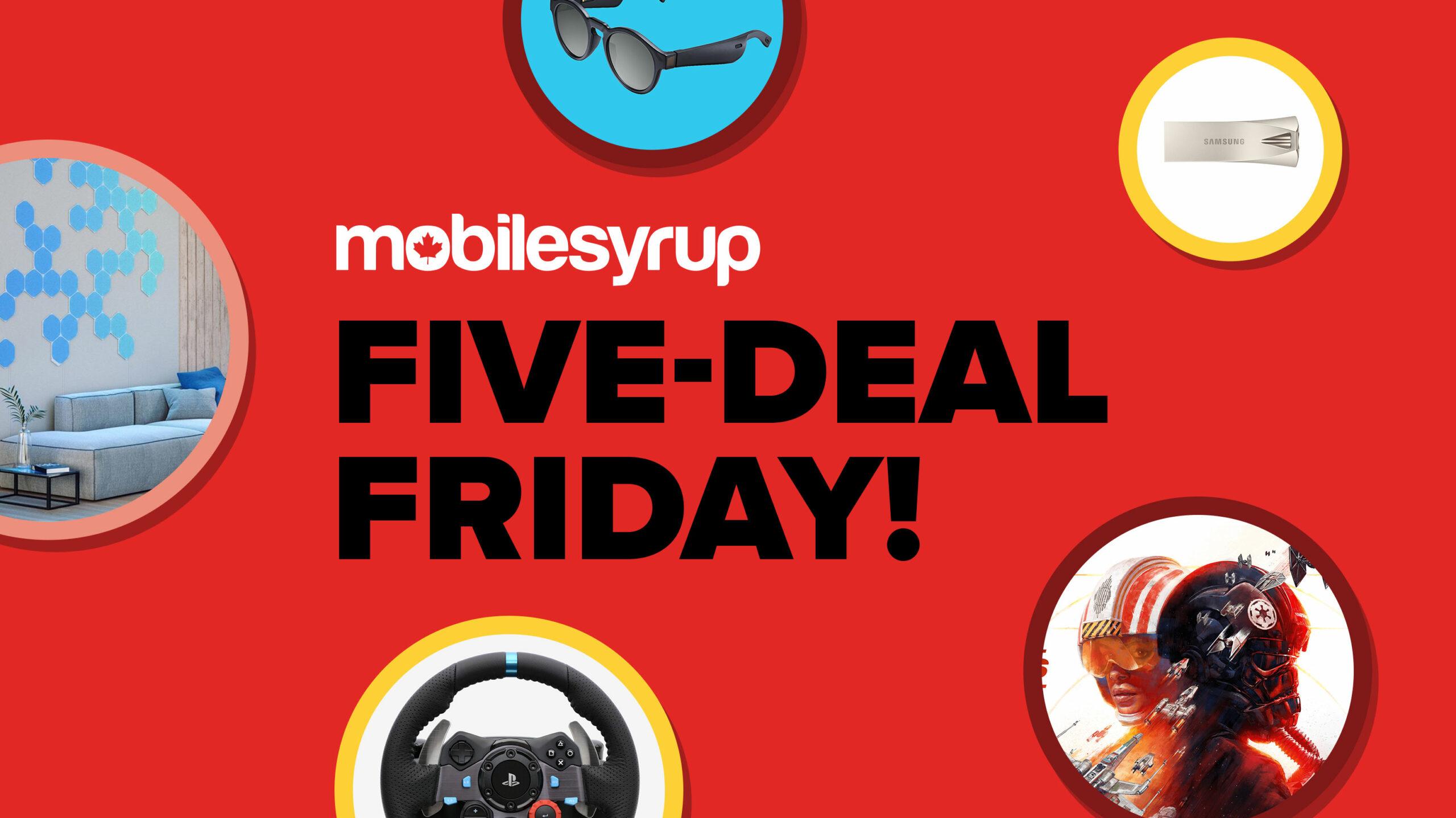 Five Deal Friday Header