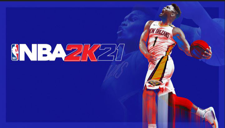 Zion Williamson on the cover of NBA 2K21