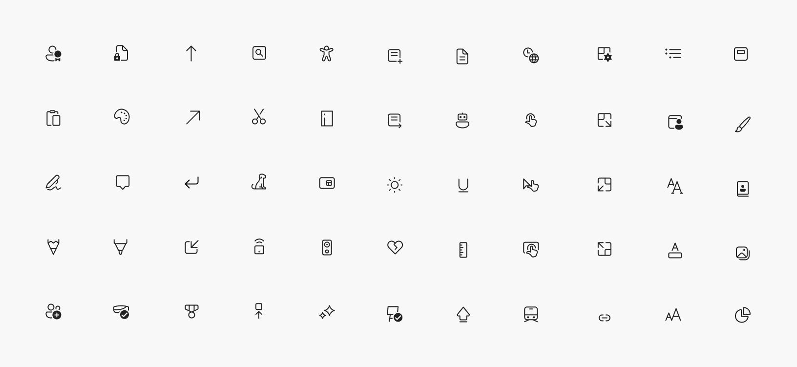 Windows 10 Icons