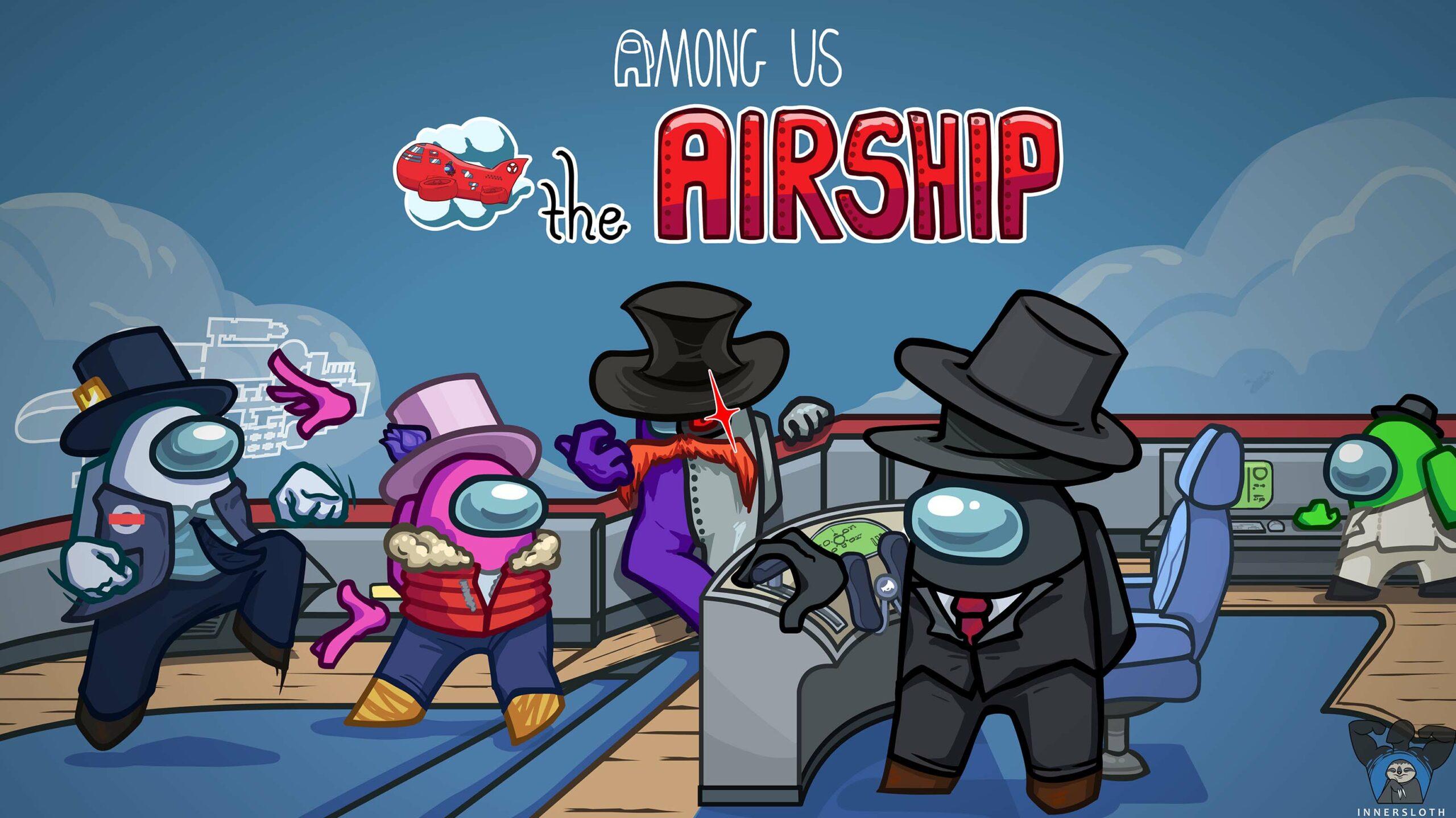 among us airship map