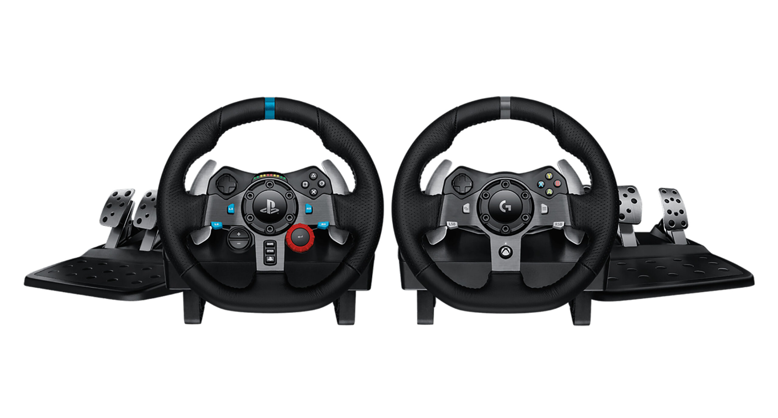 Logitech G29 racing wheel and pedals