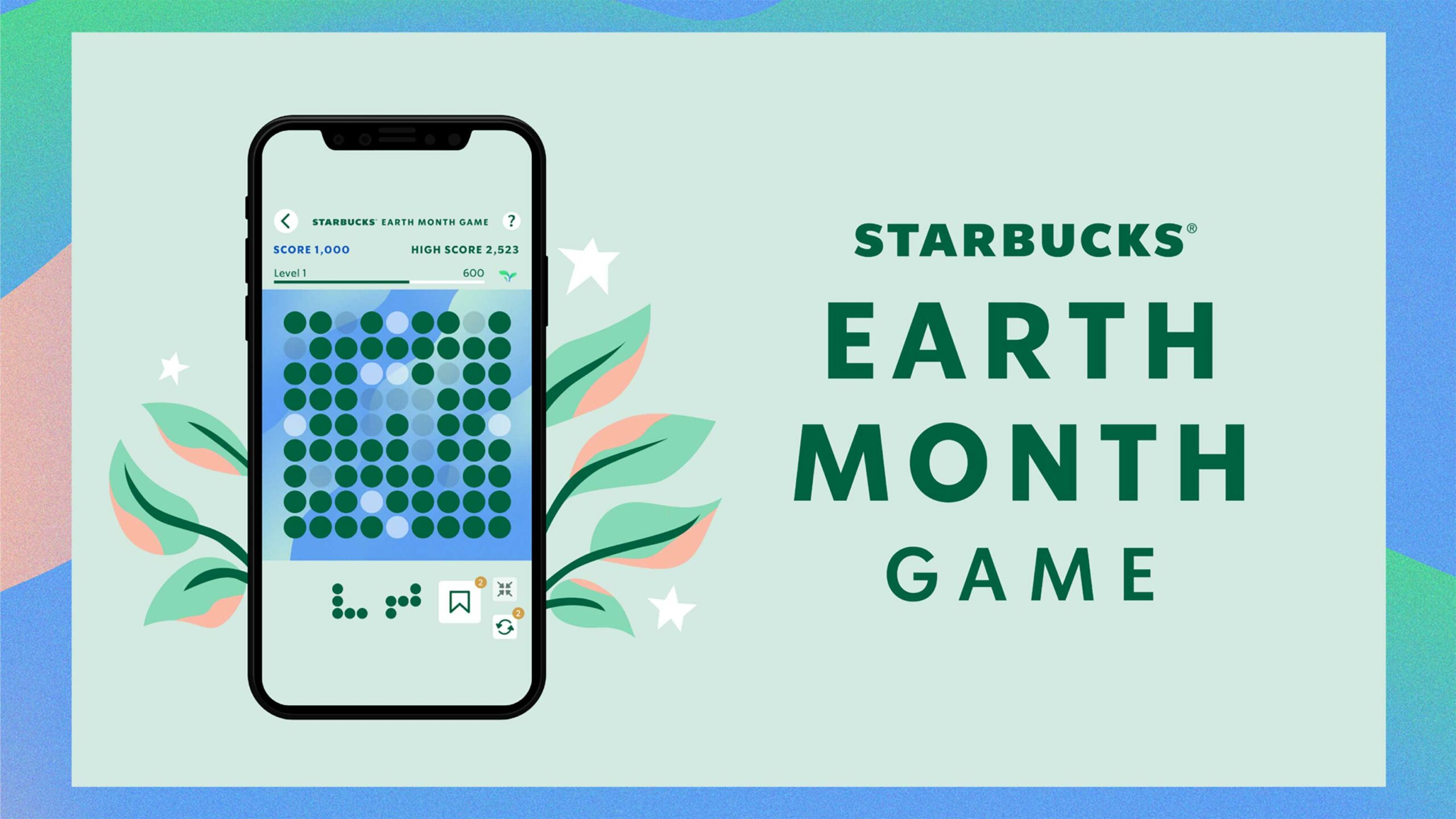 Starbucks mobile game