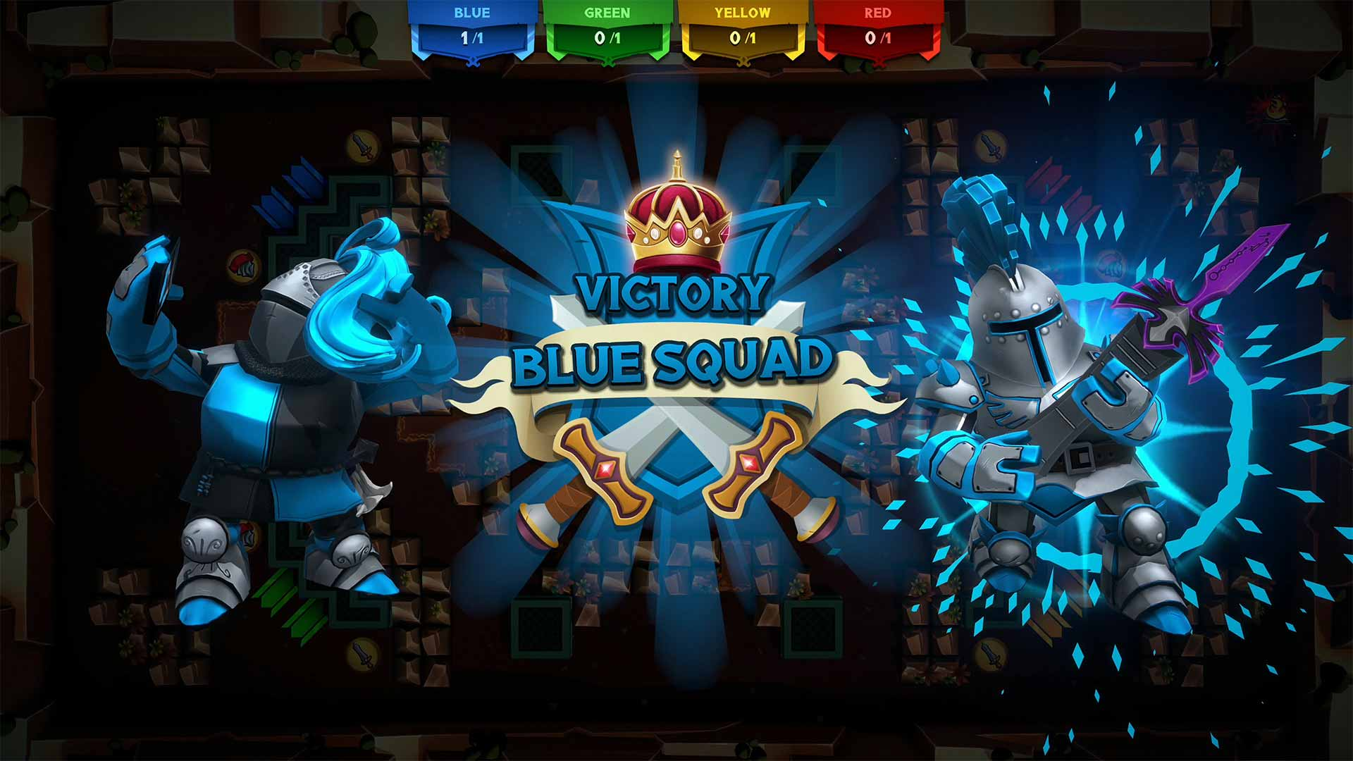 Knight Squad 2 victory