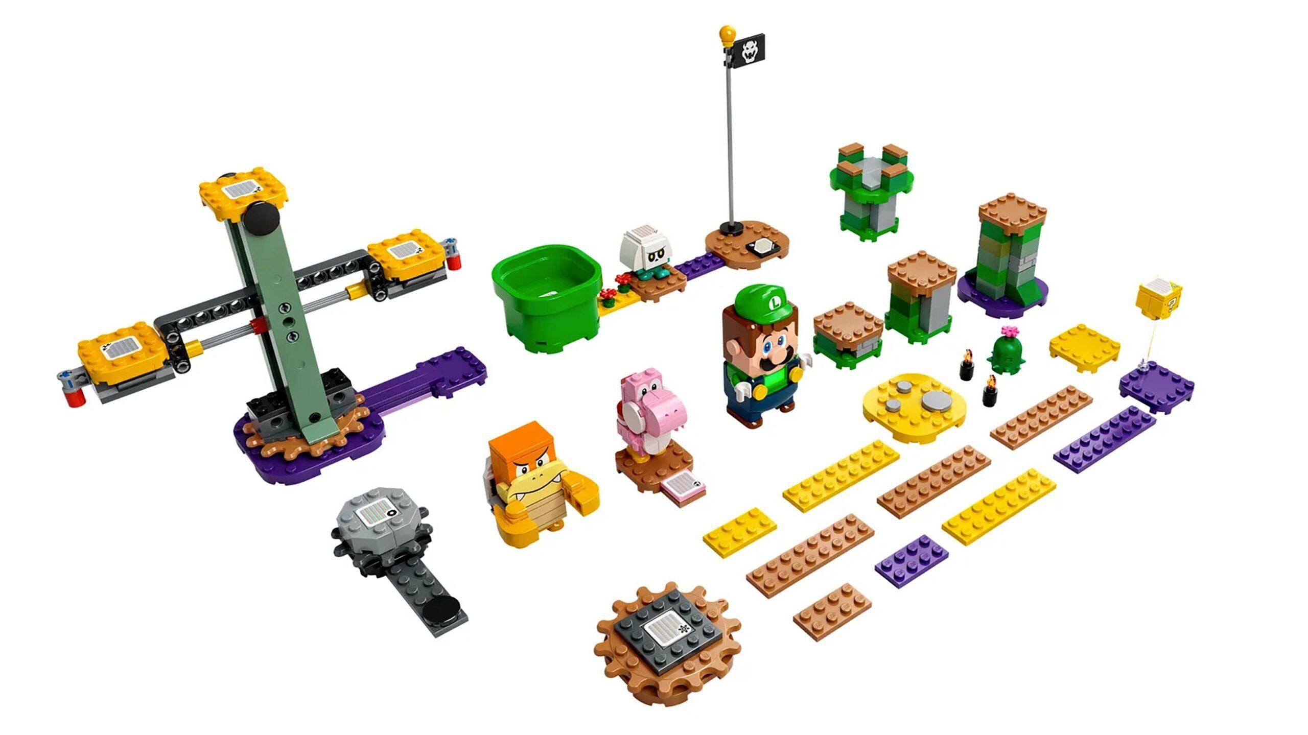 Luigi Lego set
