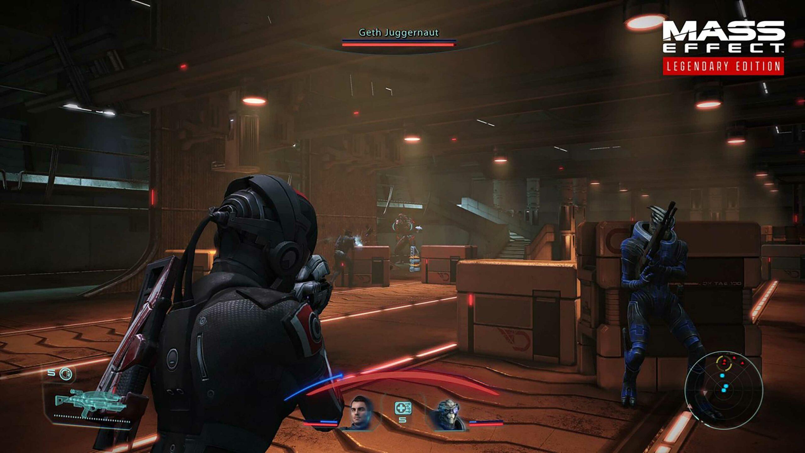 Mass Effect: Legendary Edition combat