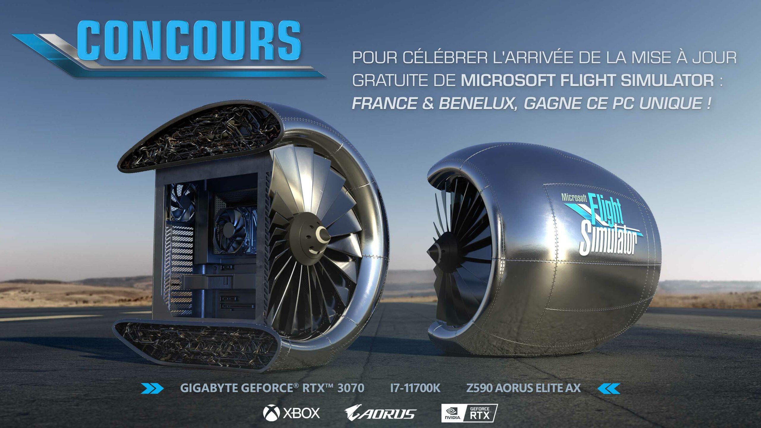Microsoft's Flight Simulator giveaway PC