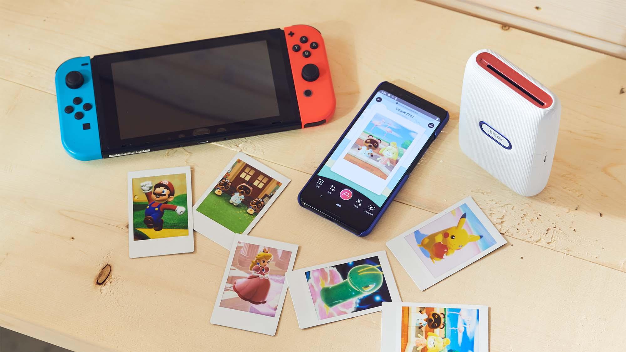 Pokemon Snap Instax Printer